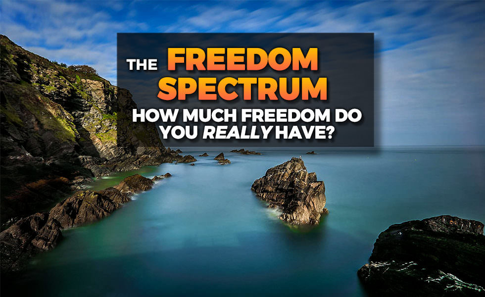 The Freedom Spectrum – How Much Freedom Do You Have?